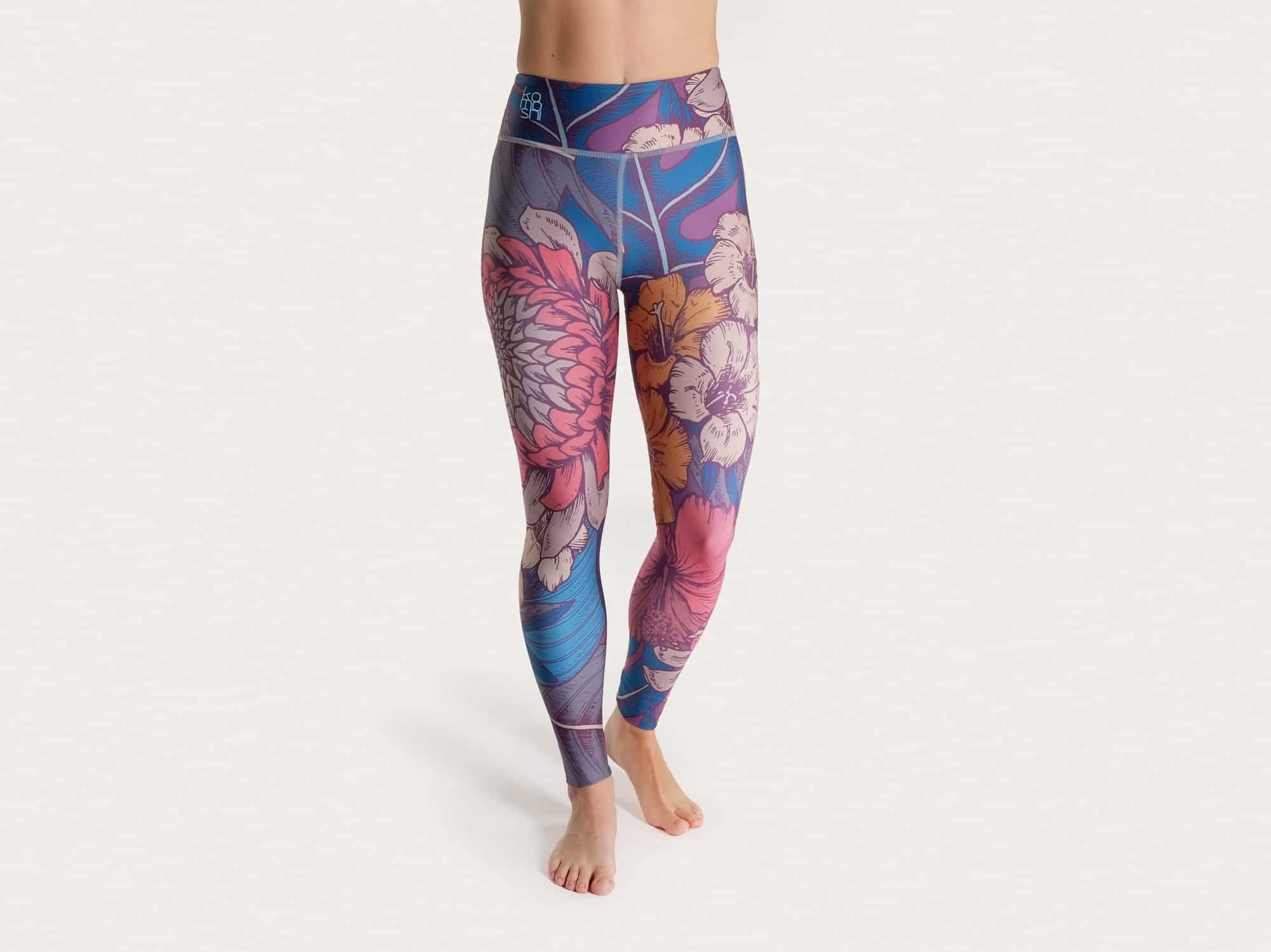 Blossom Legging Komoshi front
