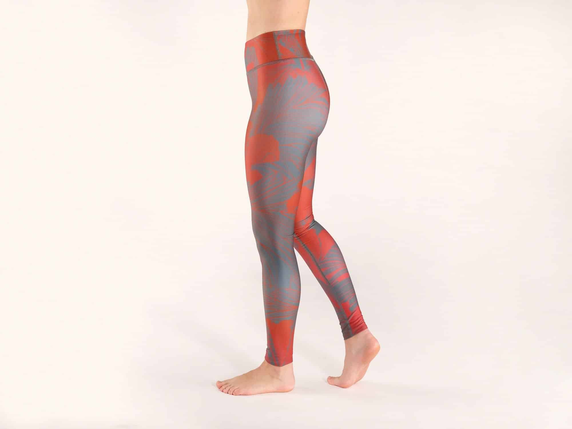 HIBISCUS KOMOSHI LEGGINGS LEFT